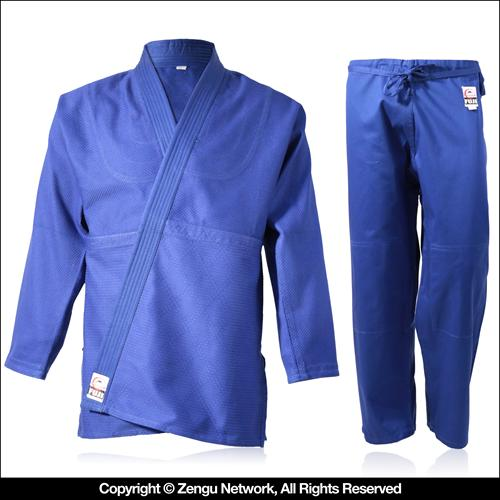 Fuji Single Weave Judo Gi (Blue)